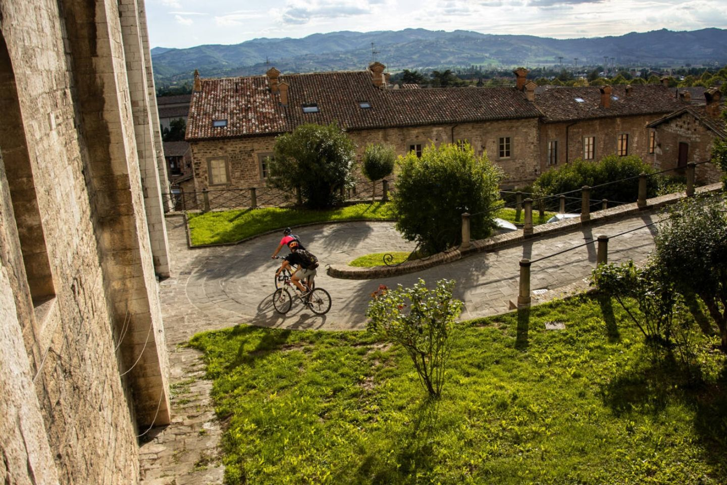 Umbria Bike Tour Gubbio - hard